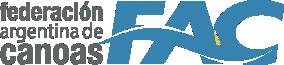 FAC | Federación Argentina de Canoas Logo